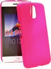 Hardcase Skal Lenovo Motorola Moto G4 / G4 Plus (Hotpink)