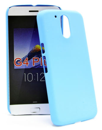 Hardcase Skal Lenovo Motorola Moto G4 / G4 Plus (Ljusblå)