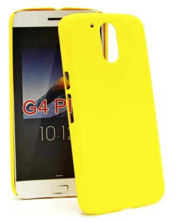 Hardcase Skal Lenovo Motorola Moto G4 / G4 Plus (Gul)