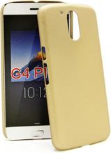 Hardcase Skal Lenovo Motorola Moto G4 / G4 Plus (Champagne)