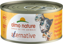 Økonomipakke: Almo Nature HFC Alternative 24 x 70 g - Grillet kalkun