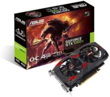 GeForce GTX 1050 Ti Cerberus OC - 4GB GDDR5 RAM - Grafikkort