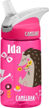 Camelbak drikkeflaske med navn til barn Piggsvin 0,4