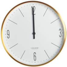 Wall Clock Couture Gold