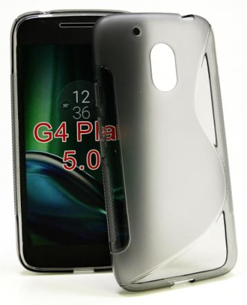 S-Line skal Lenovo Motorola Moto G4 Play (Grå)