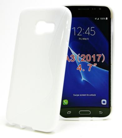S-Line skal Samsung Galaxy A3 2017 (A320F) (Vit)