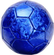 Blå Metallisk Bold - 14 cm