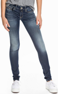 Replay WX689 604 Luz Hyperflex Straight Denim
