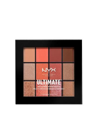 Øyenskygger - Rust NYX Professional Makeup Ultimate Multi Finish Palette