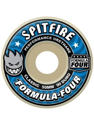 Spitfire Formula 4 99 DuroClassic 50mm Wheels uni Uni
