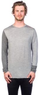 Ortovox Merino 185 Rock'n'Wool Tech Tee LS grey blend XL