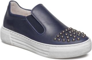 Sporty Loafer Lave Sneakers Blå GABOR