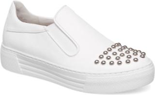 Sporty Loafer Lave Sneakers Hvit GABOR