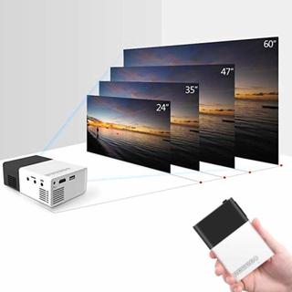 Portabel LED projektor - För dator, mobiltelefon, Chromecast