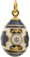 Carl Fabergé Fabergéägg-blå Och Vit