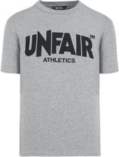 Unfair Athletics - Classic Label -T-skjorte - gråmelert