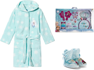 Disney FrozenPakke med Disney® Frozen tøfler + badekåpe+ accessoarer
