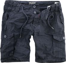 Urban Surface - Men´s Cargo Bermuda -Shorts - marineblå