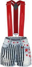 Birds Of Prey - Harley Quinn -Hot pants - flerfarget