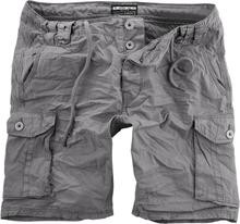 Urban Surface - Men´s Cargo Bermuda -Shorts - grå