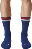 Adidas - New York ID Crew men's tennis socks (blue