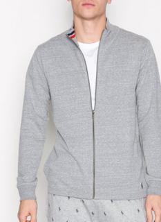 Polo Ralph Lauren L/S Full Zip-Sleep Top Nattøy Grey