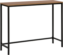 Sivupöytä tummapuu/musta TULIA