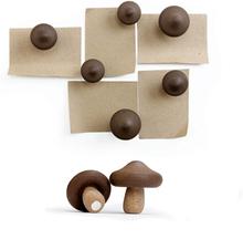 Svampe magneter 6-pak - køleskabsmagneter