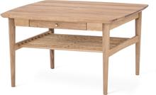 Ekhaga soffbord oljad ek 82x82 cm