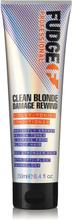 Fudge Clean Blonde Damage Rewind Violet Conditioner 250ml