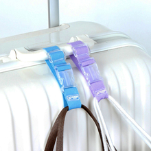 MANJIANGHONG Adjustable Nylon Luggage Straps Luggage Accessories Hanging Buckle Straps Suitcase Bag Straps