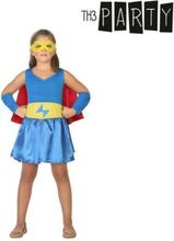 Kostume til børn Superheltinde 7-9 år