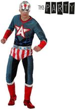 Kostume til voksne Th3 Party Superhelt M/L