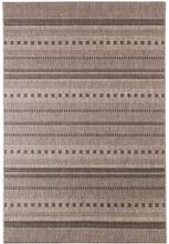 Flatvävd / slätvävd matta Ragusa - Silver - 133x190 cm