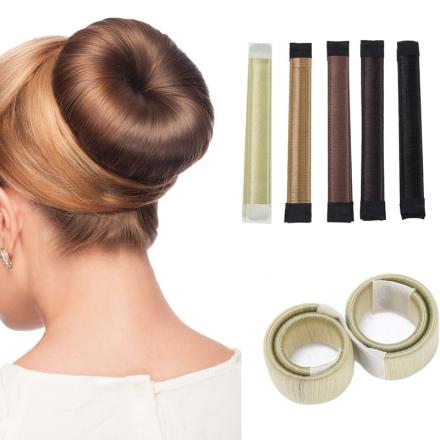 Fashion Magic Hair Bun Maker Hair Donut Bun Maker Easy Bun Hair French Twist Magic Bun Maker Clip For Women Make Up
