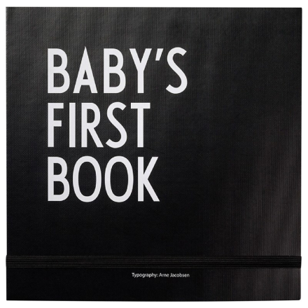 Baby's first book Musta