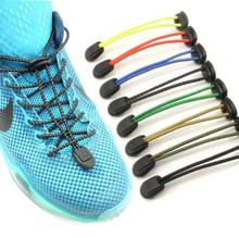 1 pair Elastic Lazy No Tie Shoelaces 8 colors Sport Runner Shoe Laces Easy Lock Reflective Unisex Shoelaces Shoes Accessories