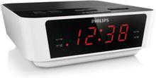 Clock-radio Philips AJ3115/12 LED FM 1W Hvid
