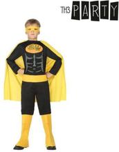 Kostume til børn Superhelt Sort 5-6 år