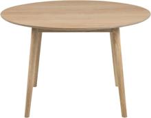 Hugo - Rundt spisebord med egefiner Ø120 cm