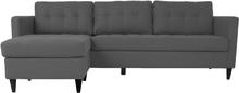 Eddie - Chaiselong Sofa - Grå (Flytbar Chaiselong) Begrænset lager