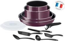 Ingenio Essential Violet Byzantium 12-osainen keittiövälineet asettaa kaikki valot paitsi induktio L2019702