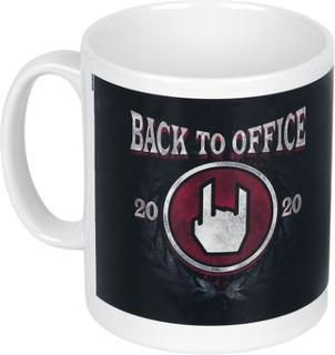 Back To Office - -Kopp - hvit