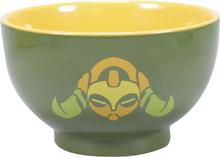 Overwatch - Orisa -Dyp tallerken - grønn, gul
