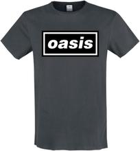 Oasis - Amplified Collection - Logo -T-skjorte - koksgrå
