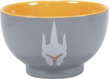 Overwatch - Reinhardt -Dyp tallerken - grå, oransje