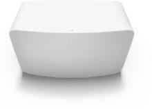 SONOS Five (Gen2) - Smart højtaler - Ethernet / Wi-Fi / 3.5mm jackstik - Airplay 2 - Kapacitiv touchbetjening - Hvid