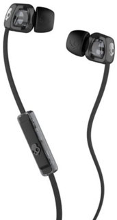 Skullcandy Smokin Bud 2 In-Ear W/Mic 1 Headphones w/mic 1 black/black Uni