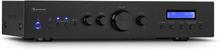 AMP-CD608 DAB HiFi-stereo-förstärkare 4x100W RMS DAB+ BT Opt.-In fjärrkontroll