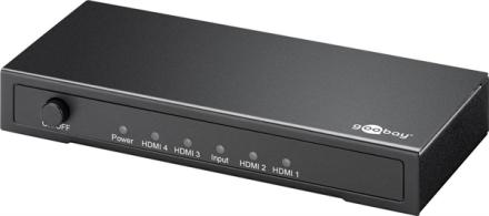 Goobay HDMI Splitter Ultra HD 4K/2K 1in/4out